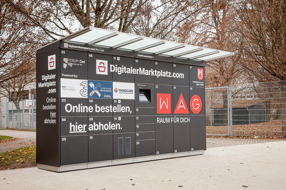DMP Abholstation - WAG, Linz-Oed